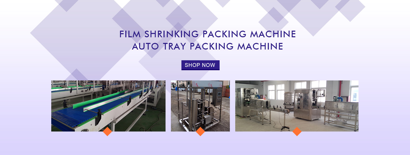 modern-pack auto tray packing machine